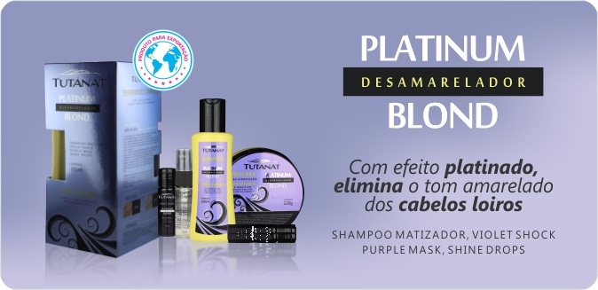 Linha Platinum Desamareladora