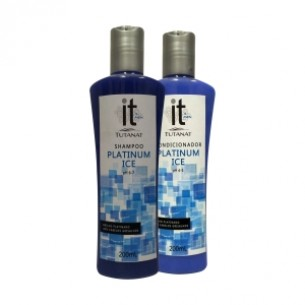 Kit Shampoo + Condicionador Platinum Ice @it Tutanat